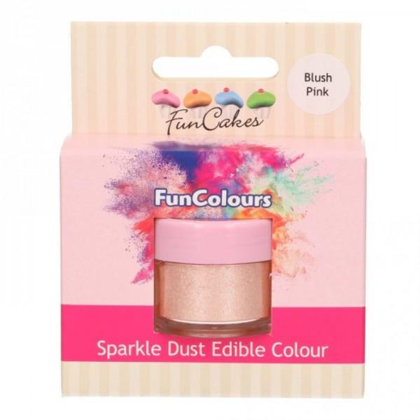 FunColours Glanzpuderfarbe - Blush Pink 100% essbar