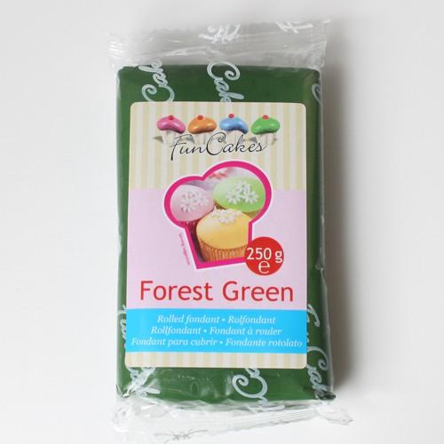 FunCakes Fondant Forest Green 250g