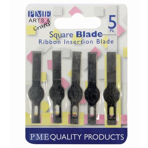 Ersatzklingen für PME7, rechteckig, 5 Stück